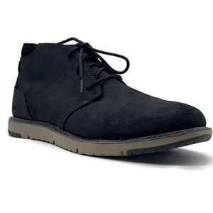 TOMS Navi Distressed Black Chukka Boot